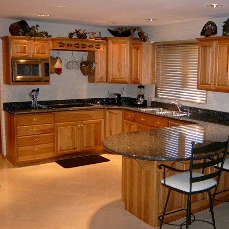 Custom Kitchen Cabinets by Keller Cabinets Inc